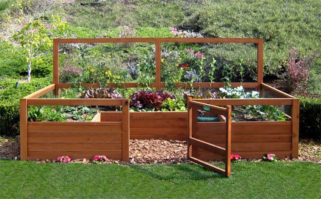 5 amazing small yard garden ideas nlc loans for Raised veggie garden designs